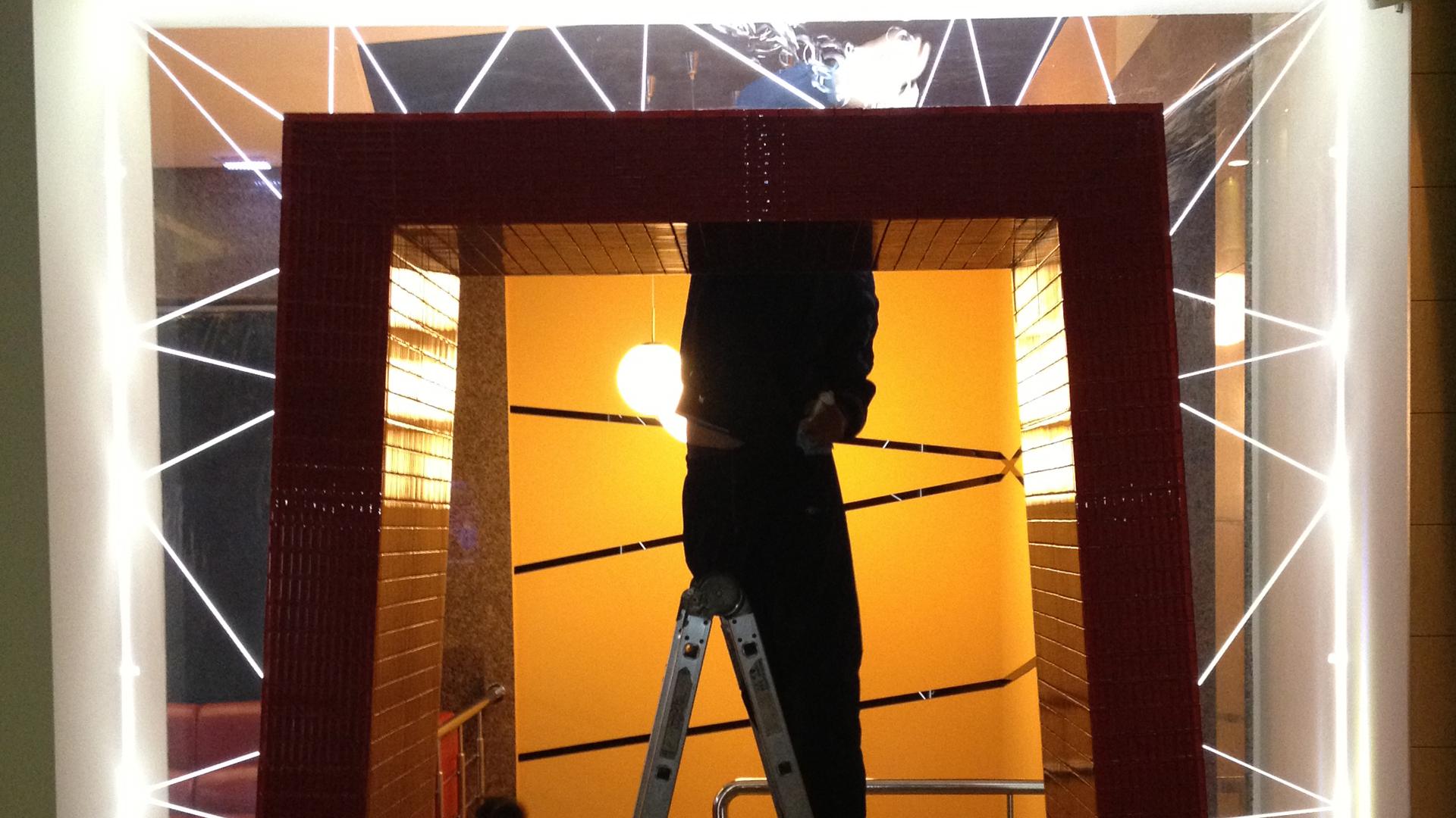 световое оформление зала