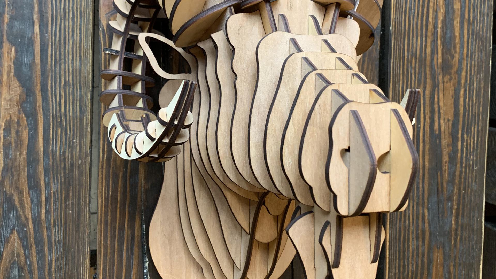 скульптура из фанеры